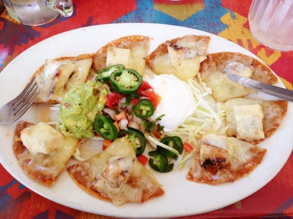Fajita Coast nachos